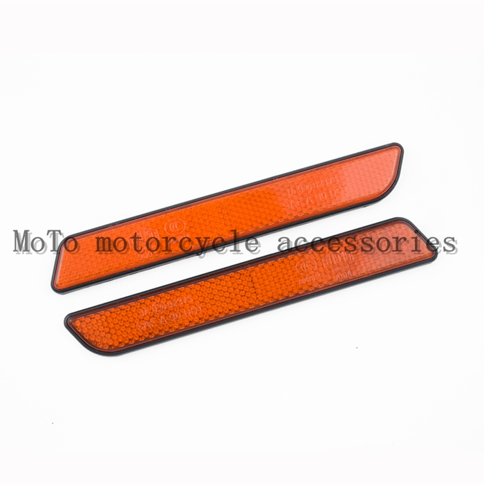 Motorcycle Fork Leg Reflector For Sportster 883/1200 Dyna Touring Electra Glide Sofitail V-Rod