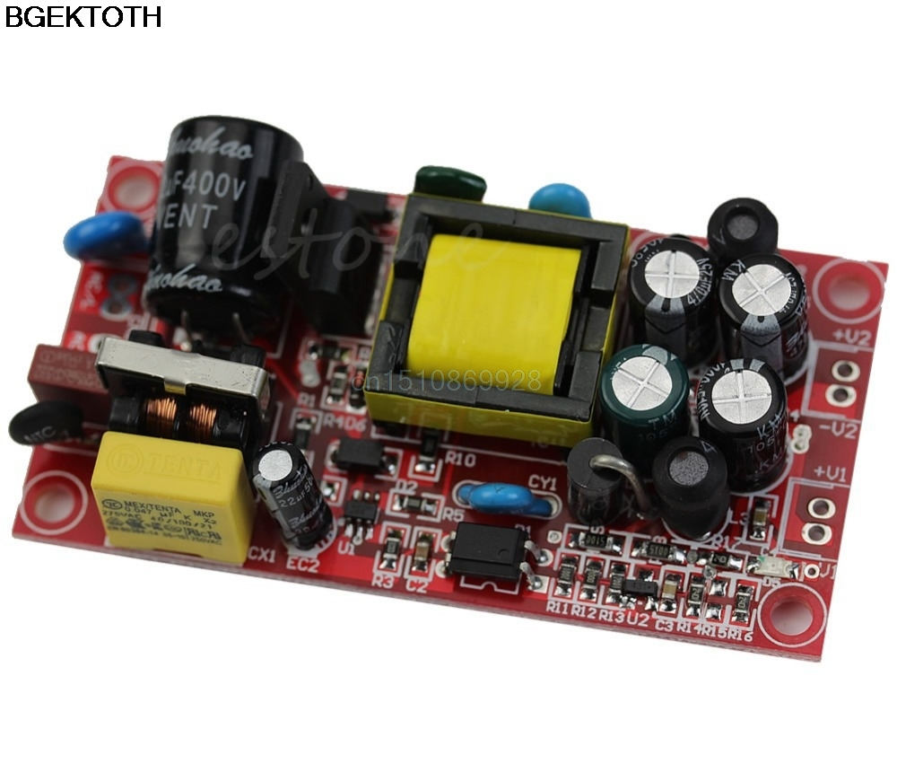 12V <font><b>1A</b></font>/<font><b>5V</b></font> <font><b>1A</b></font> AC-DC Buck Converter Double Isolation Output Module <font><b>Power</b></font> <font><b>Supply</b></font> image