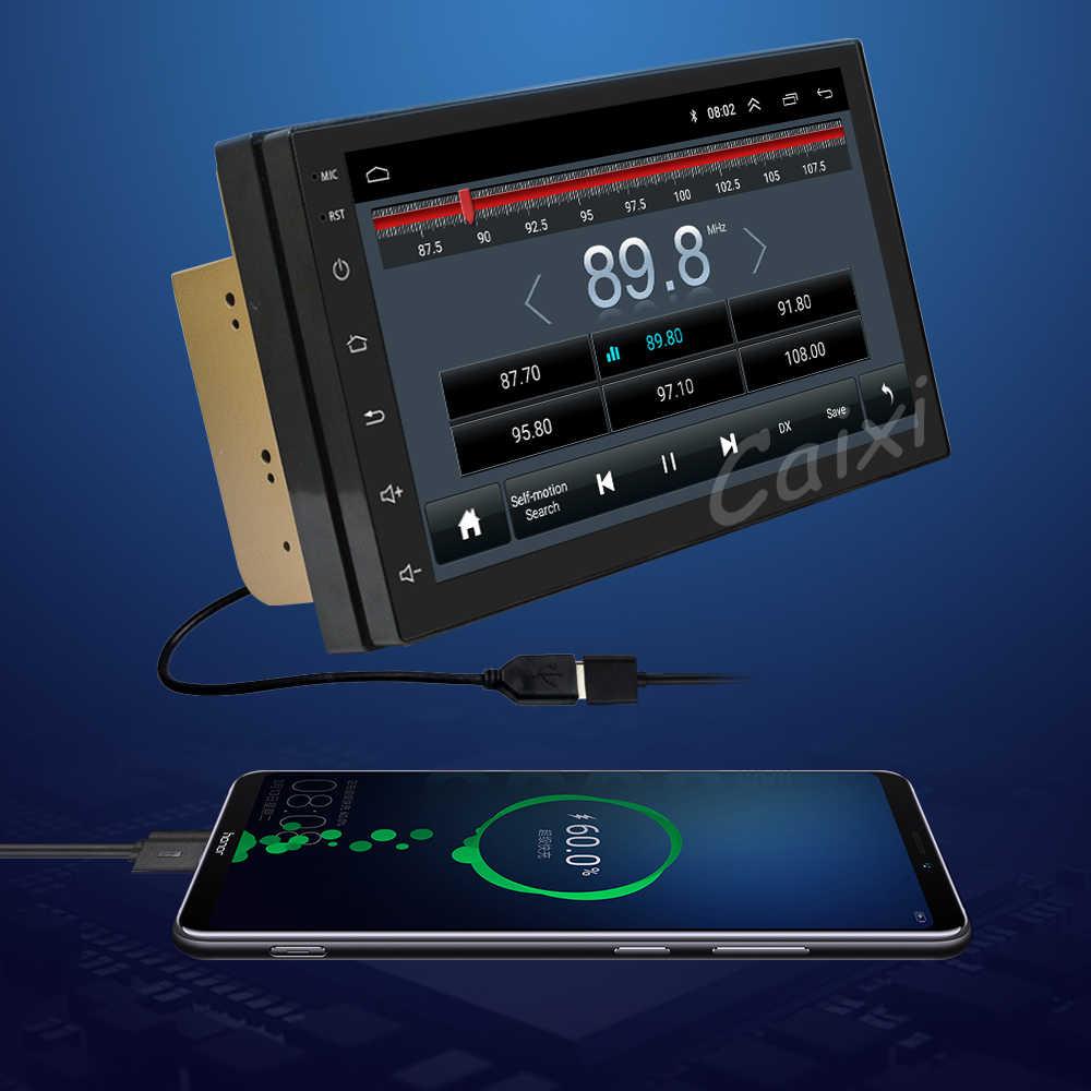 カーラジオ車の Android 8.1 2Din ユニバーサル GPS ナビゲーションカーオーディオステレオ車マルチメディア MP5 日産 Hyund トヨタ起亜