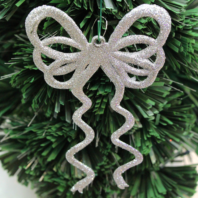 new arrive different colors glitter transfers butterfly ornaments christmas tree ornaments very funny christmas - Funny Christmas Tree Ornaments