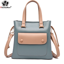 купить Luxury Handbags Women Bags Designer Fashion Panelled Ladies Hand Bag Famous Brand Leather Crossbody Bags for Women Sac A Main дешево