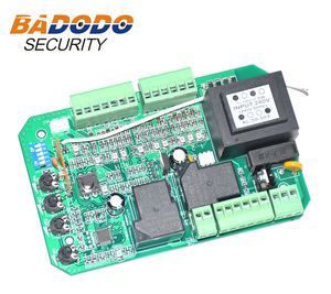 Image 5 - Sliding gate opener AC motor control unit PCB controller circuit board electronic card with pedestrian mode soft start