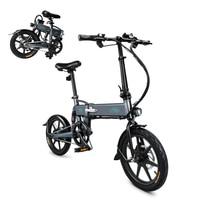 E bike 16 Inch Folding Power Assist Eletric Bicycle Moped E Bike 250W Brushless Motor 36V 7.8AH Maximum Speed 25km/h e bike