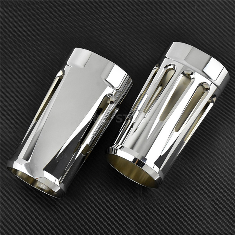 Covers & Ornamental Mouldings Automobiles & Motorcycles Deep Front Fork Boot Slider Covers For Harley Touring Road King Electra Street Glide Flhx Flhr 1984-10 11 12 13