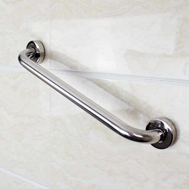 Charmant 30cm Bathroom Tub Toilet Handrail Grab Bar Shower Safety Support Handle  Stainless Steel Towel Rack Shower
