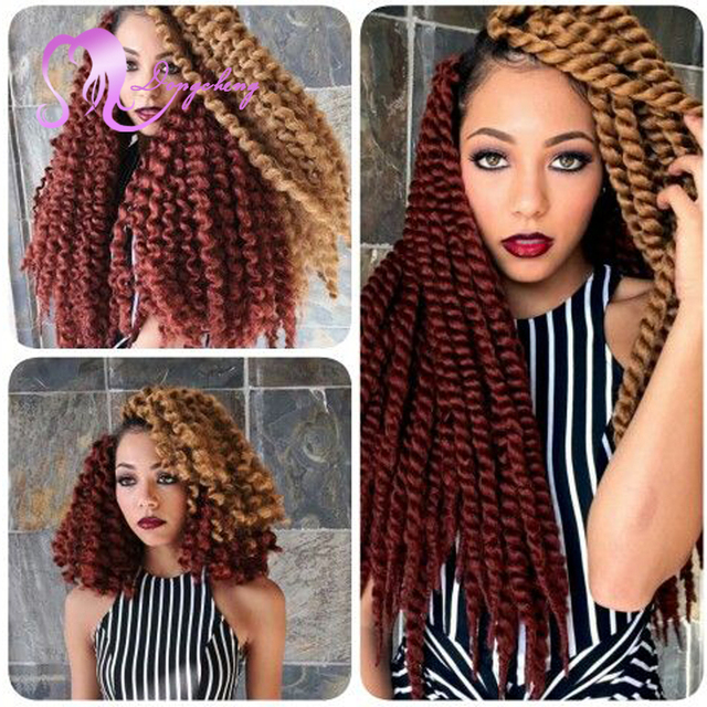 1 Piece Only 12strsndspcstwist Crochet Hair Extensions Curly Style