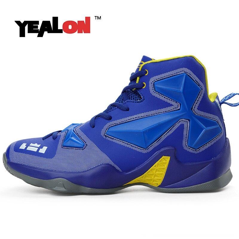 YEALON Orginal Basketball Shoes Men Shoes Men Sneakers Krasovki Men Shoes Men Basket Homme Zapatillas Basquetball Hombre 2017