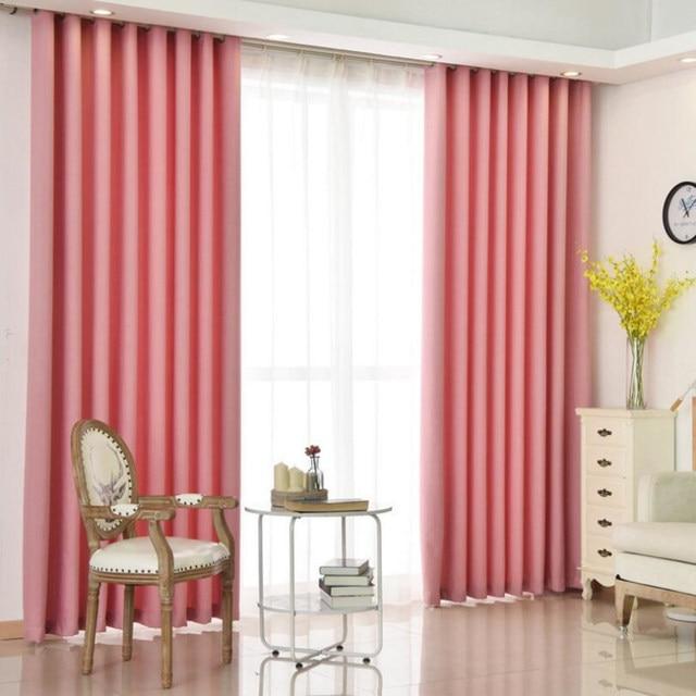 Online Shop Purple Curtains Solid White Sheer Voile Window Modern ...