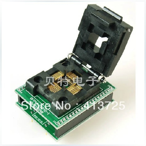Ucos QFP44 dedicated IC programming adapters burn forward ZY504B test tqfp64 ucos dedicated programming block zy501a burning test adapter adapter