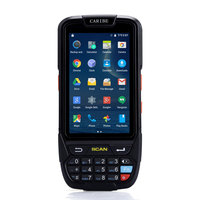 CARIBE Latest Design 4000mA Battery Capacity Android Barcode Scanner Handheld Terminal PDA