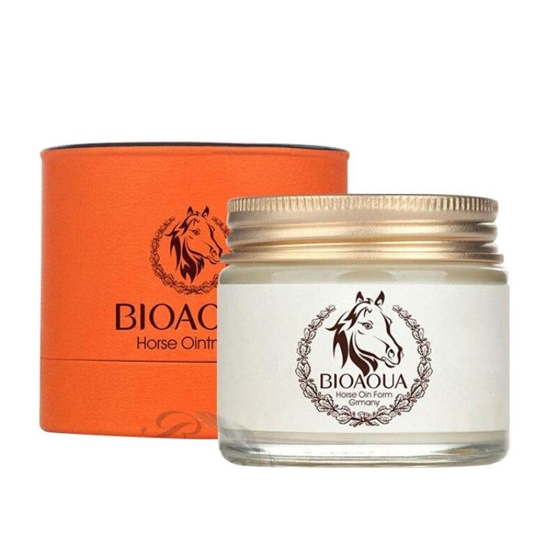 New Anti Aging Cream Horse Oil Scar Face Body Whitening Cream Ageless Korean Cosmetic Skin Care Whitening Moisturizing QR74