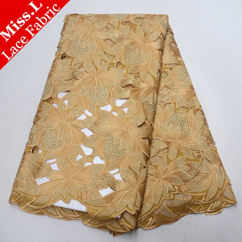 5 Yards/Piece Swiss Voile Lace In Switzerland With 100 Cotton Super Quality African Embroidery Lace Fabric For Hollow Out Dress