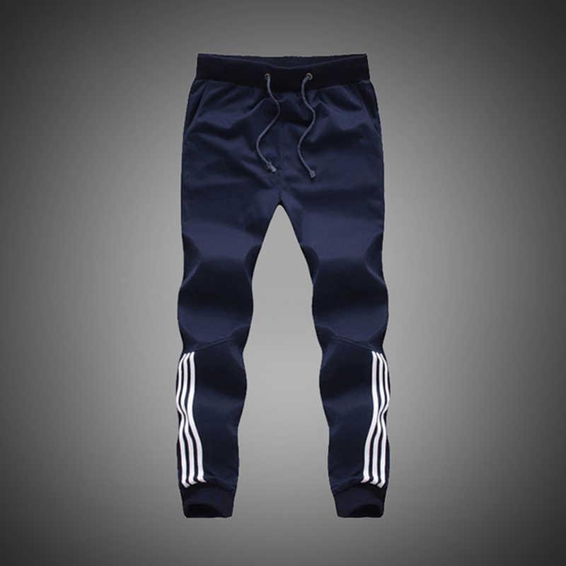 233ed7583813 Большой размер 5XL 2019 новый модный спортивный костюм узкие мужские  повседневные брюки хлопок тренировочные брюки мужские