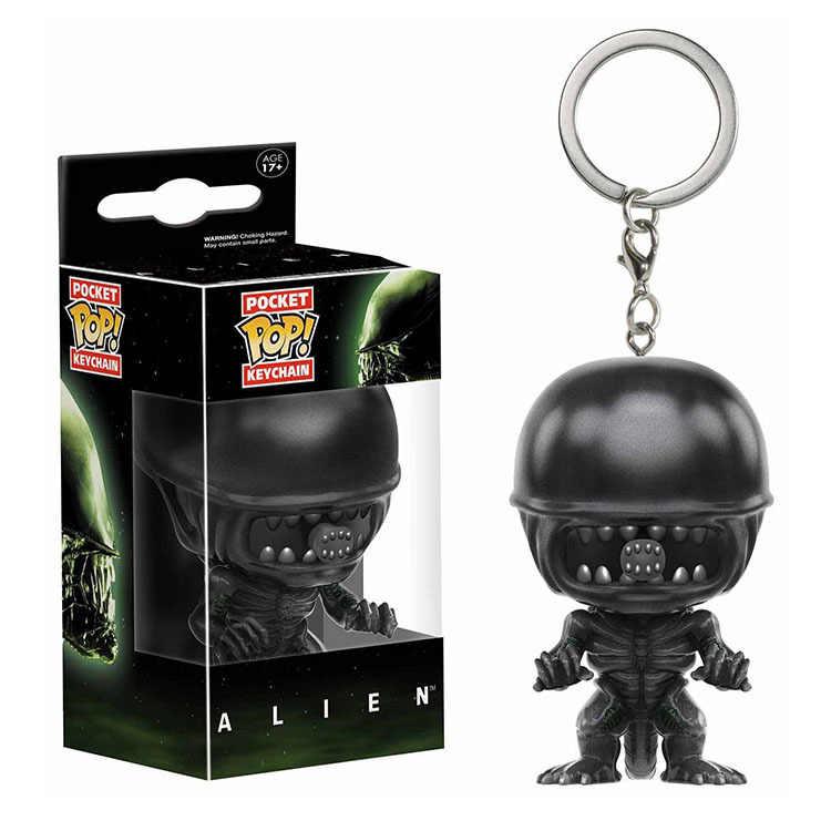 פופ Keychain הרשמי בסרטים: Alien פעולה איור אוסף דגם צעצועי ילדי יום הולדת מתנה עם תיבה