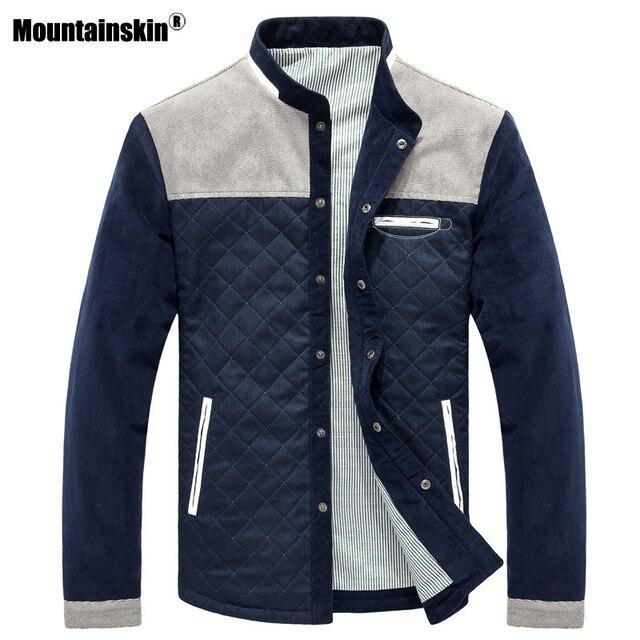 Mountainskin Baseball Uniform Slim Casual Coat 1
