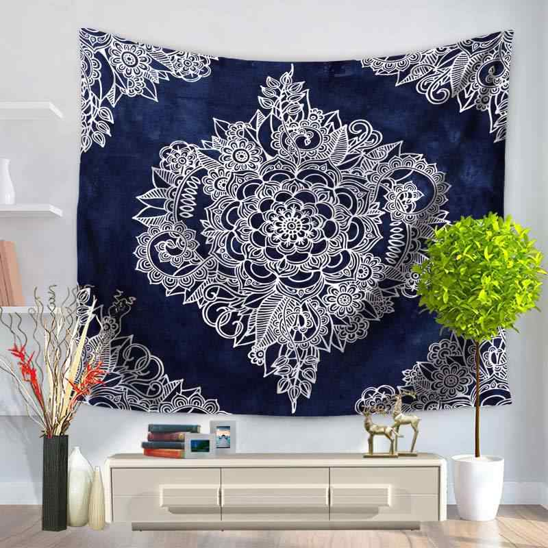 Bohemia Mandala Bohemia Mandala Floral Carpet Wall Hanging Tapestry For Wall Decoration Fashion Tribe Style  TAP143