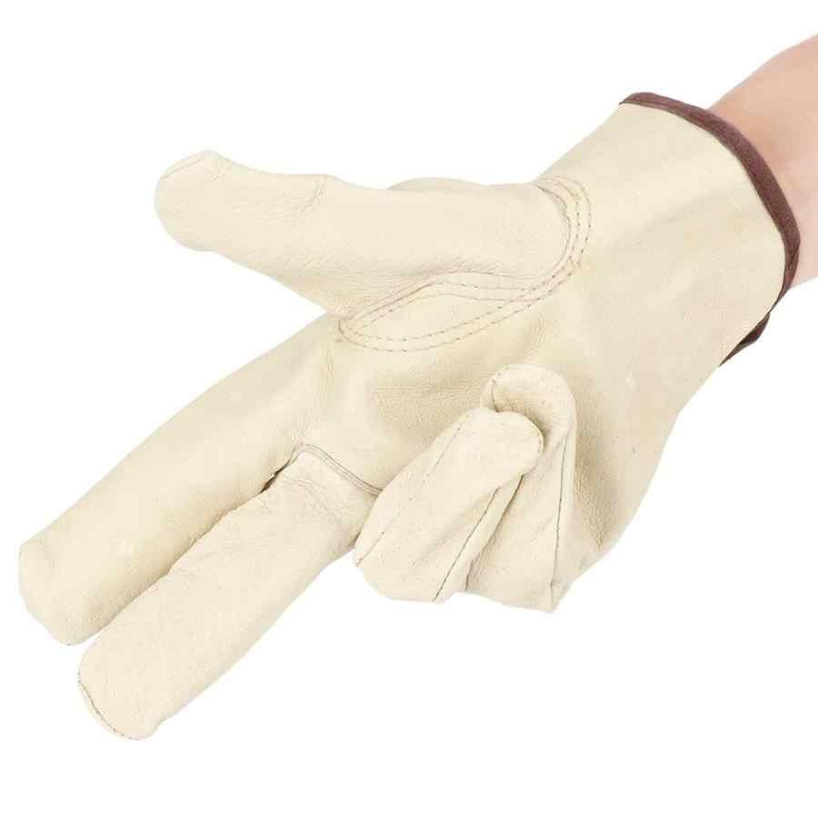 Домашние перчатки для дома кожаные утолщенные рабочие перчатки защитные износостойкие садовые рабочие