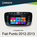 IOKONE Car DVD CD video Player Stereo For Fiat Punto 2012 2013  With Radio,Bluetooth,GPS,iPod,Steering Wheel Control,Canbus