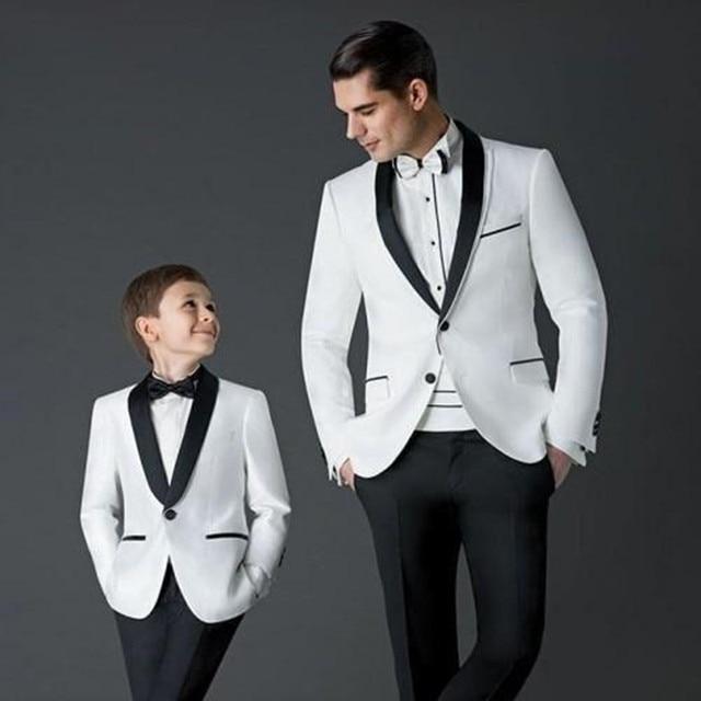 2017 New men suit Groom Tuxedos white Men\'s Wedding Dress Prom mens ...