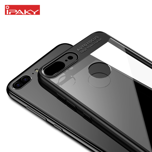 best website 2cbe0 814a3 US $4.74 5% OFF|iPaky For Huawei Honor 9 Lite Case Silicone Soft Frame Hard  Transparent Back Phone Cover Honor9 Lite Hybrid Armor Holster-in Fitted ...