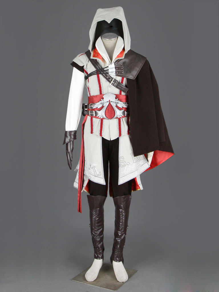 EXCLUSIVE Assassin's Creed 2 Altair Master anime cosplay costume