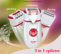 3 in 1 Head Female Epilator Electric Shaver Hair Remover Women's shaving machines For Armpit Bikini Legs Personal Care