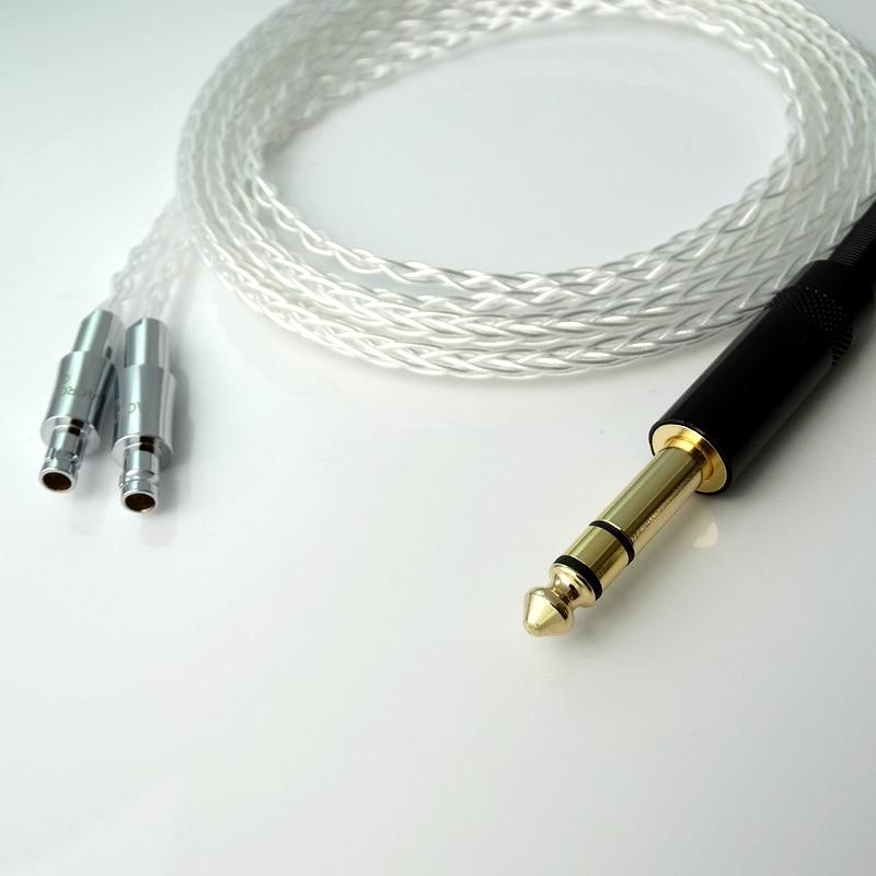 2.5м 1/4 6.35 мм DIY Hi-end HIFI Litz коса 8 ядра 5n Pcocc - Портативні аудіо та відео - фото 4