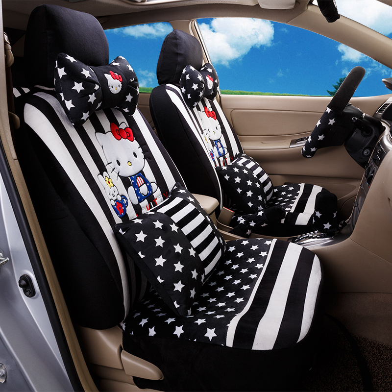 Popular Blue Hello Kitty Seat Covers Buy Cheap Blue Hello