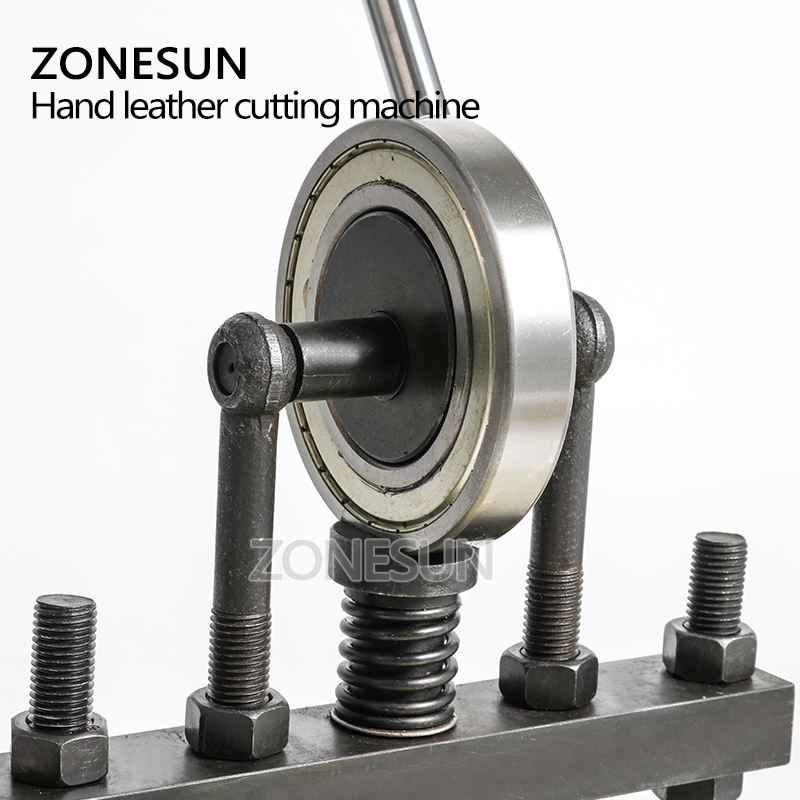 ZONESUN cuir machine de découpe 20x14cm pour papier photo PVC/EVA feuille moule coupe découpe cuir estampage artisanat - 3