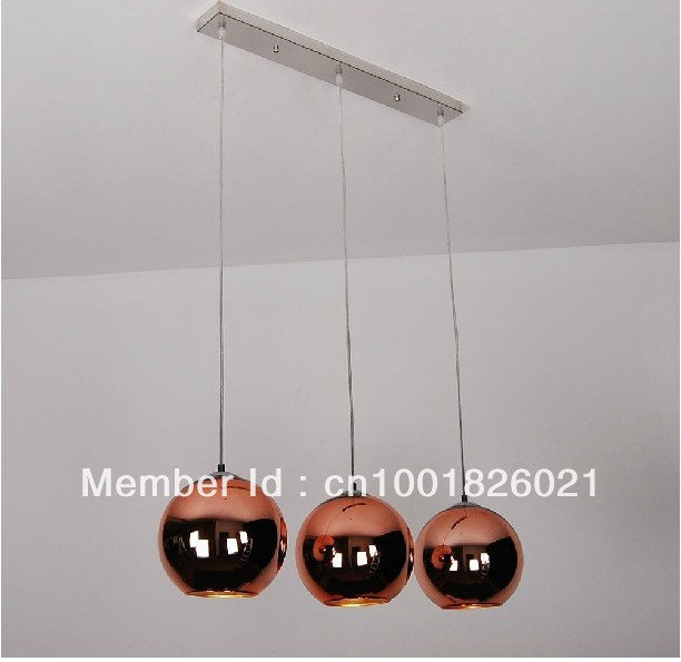 Free shipping hot selling wholesale 3 lights fontanaarte globo di free shipping hot selling wholesale 3 lights fontanaarte globo di luce lamp modern mirror ball pendant aloadofball Choice Image