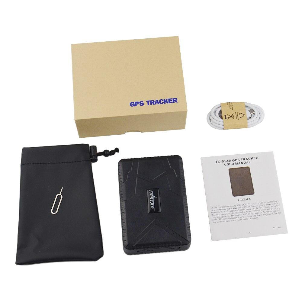 TKSTAR GPS Tracker TK915 Car Vehicle GPS Locator 10000mAh Battery Standby 120 Days Waterproof Magnet Loosing