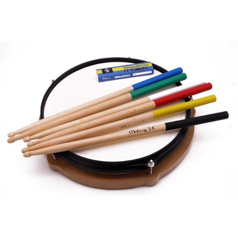 1 Pair Maple Wood Drum Sticks 5AAnti-slip Electronic Drum Rack Drumsticks Musical Sticks Percussion Instruments Accessories 1