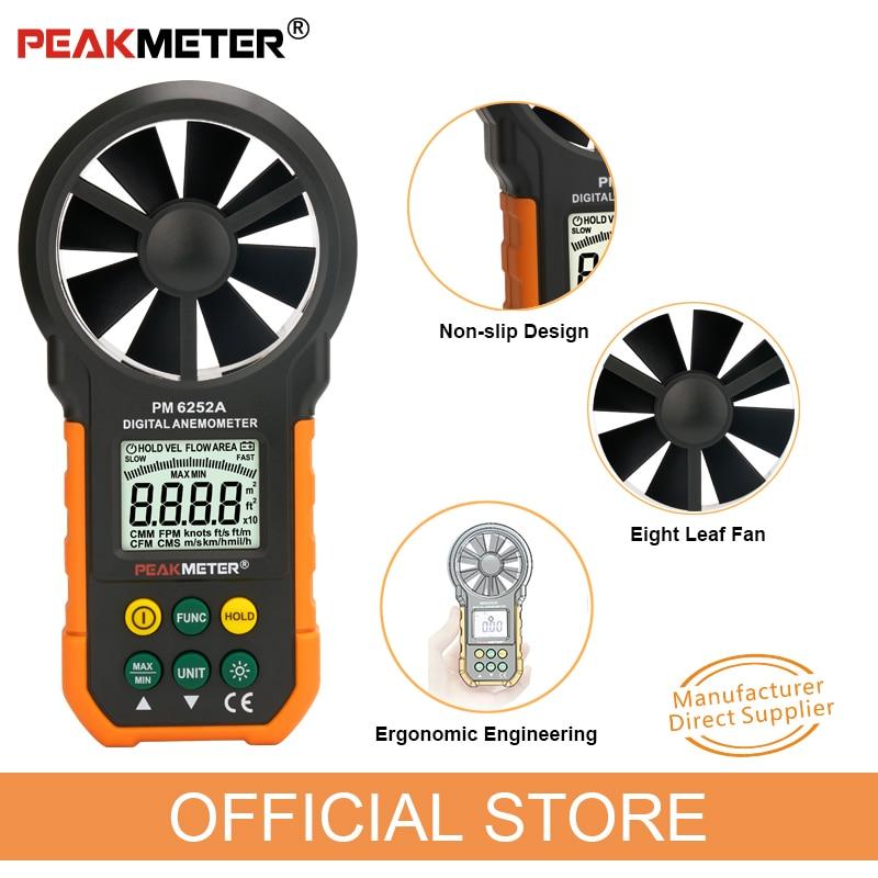 Anemometer zur Messung Luftgeschwindigkeit /& Temperatur UNI-T UT363S
