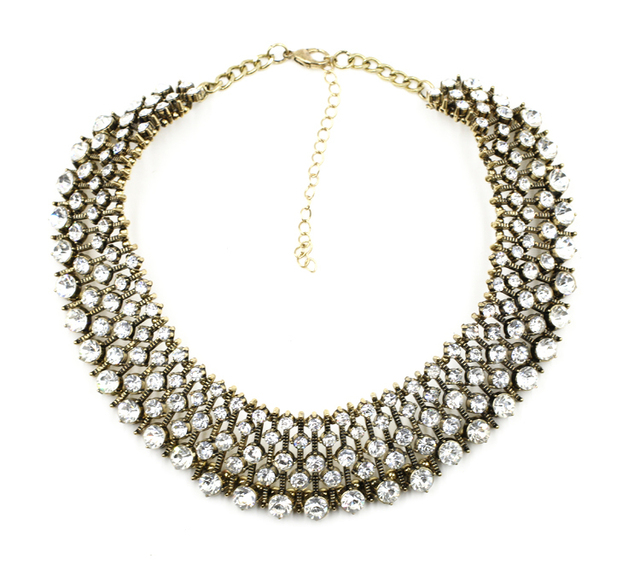 Luxury Crystal Statement Necklace