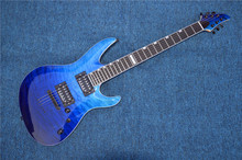 All Real Pictures China ESP/LTD Electric Guitar Ebony Fretboard 24 Frets Quilted Maple Top and Back esp guitar(China)