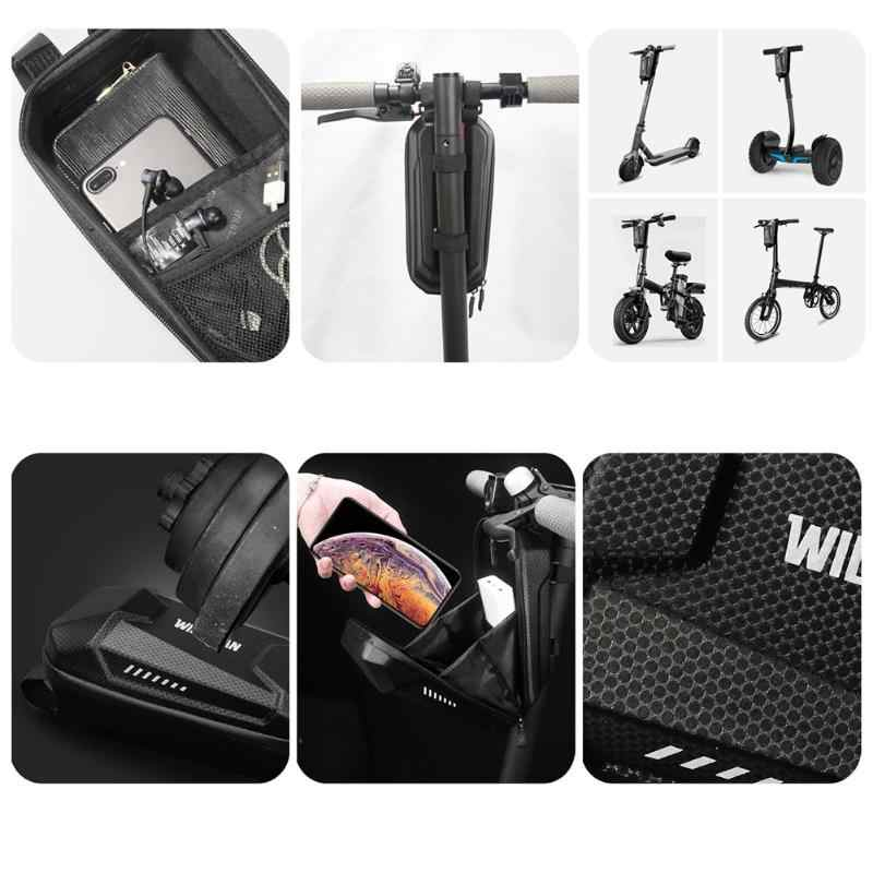 Waterproof Scooter Head Handle Bag for Xiaomi Mijia M365 Electric Scooter ES1 ES2 ES3 ES4 Tool Charger Battery Bottle Bag