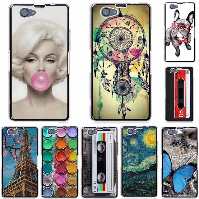 Fashion Case For Sony Xperia Z1 Compact Z1 Mini D5503 M51W Soft Silicone TPU Phone Case For Sony Xperia Z1 Compact Cases Covers