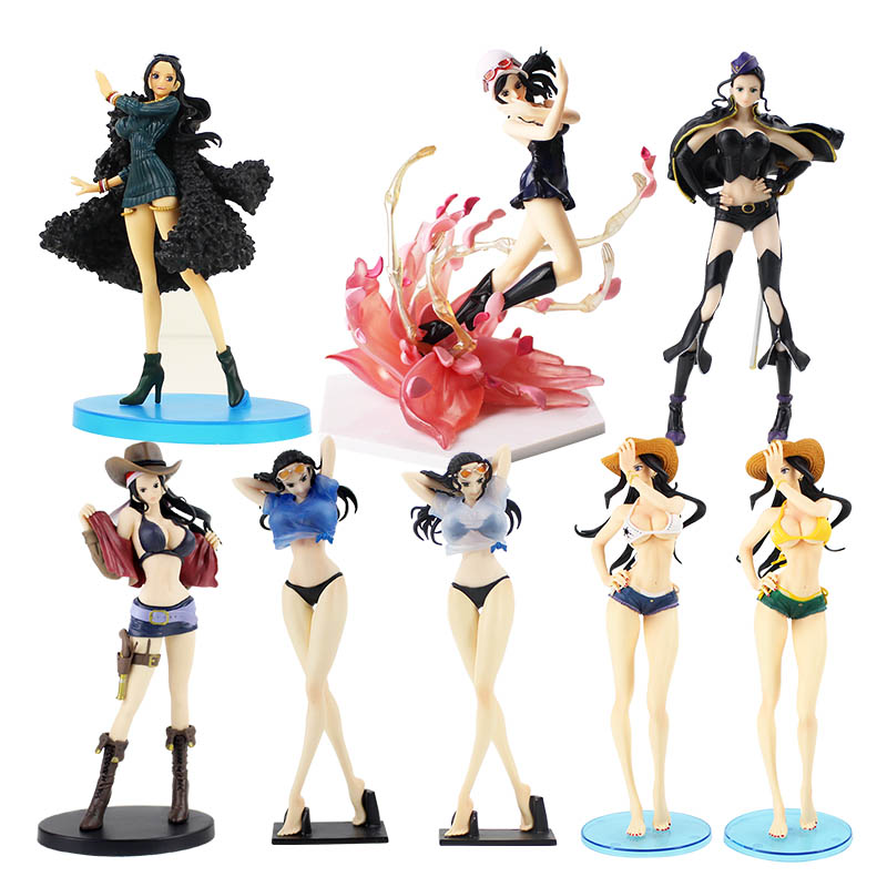 11 Style One Piece Robin Nico Action Figure Black Clothes Swim Suit Robin PVC figure Toy
