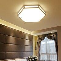 Современный светодиодный потолочный светильник креативный железный светильник Lampara Techo креативный шестигранный плафон акриловый крепеж д