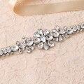 TOPQUEEN S258 FREE SHIPPING  Pure Handmade Bridal Belt 2016 Designer Women luxury Crystal Rhinestone Wedding Bridal Dress Belt