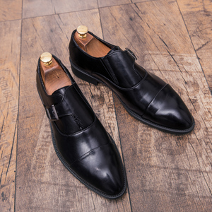 Image 5 - ZIMNIE Men Dress Shoes Formal Business Work Shoes Soft Genuine Leather Pointed Toe Shoes For Men Mens Oxford Flats Size 38 47