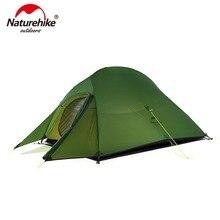 Naturehike CloudUp Серии Сверхлёгкая Палатка Туристическая Кемпинговая Палатки Для Отдыха На Природе Для Туризма 2 Человека Из 20D Нейлона NH17T001-T