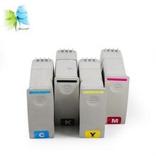 Winnerjet 4 colors 80# 80 pigment ink cartridge for HP designjet 1050 1055 1050cm 1055cm plus printer