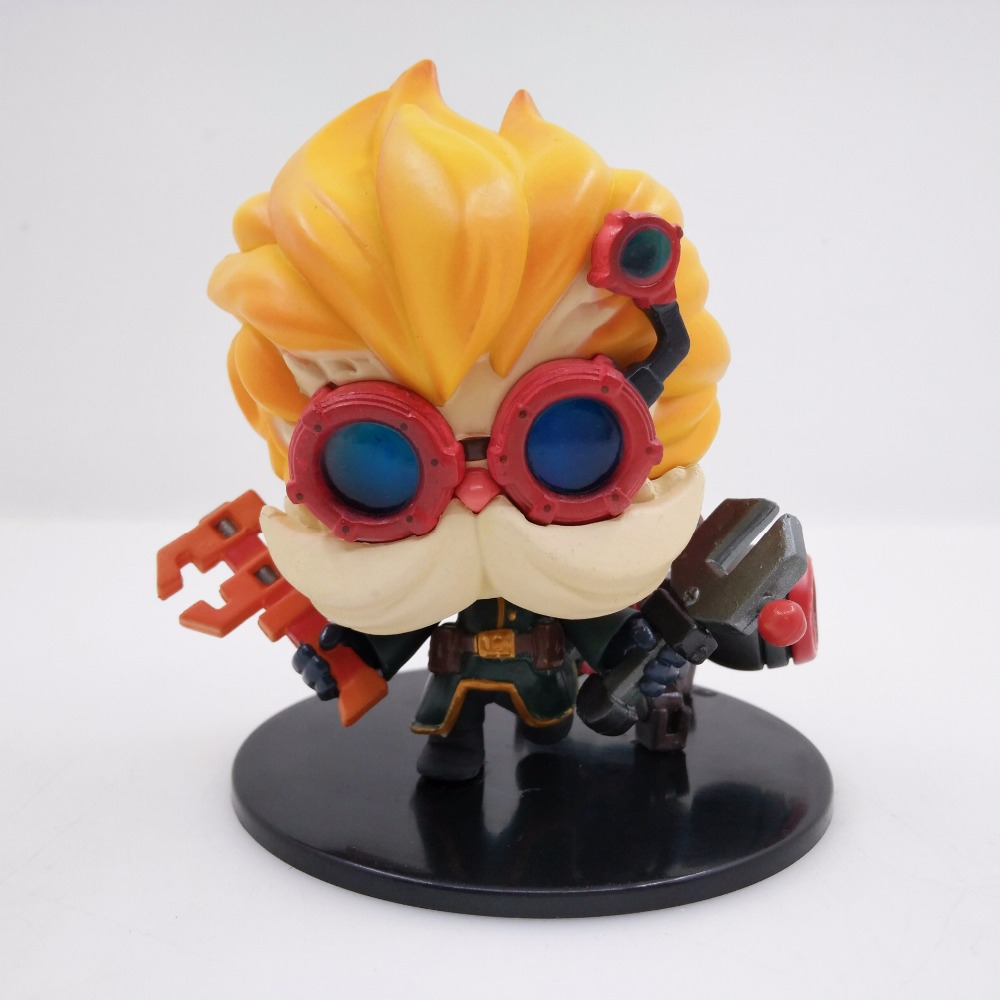 9cm The Revered Inventor Heimerdinger action figure toys collection doll Christmas gift9cm The Revered Inventor Heimerdinger action figure toys collection doll Christmas gift