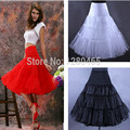 Short Organza Petticoat Crinoline Vintage Wedding Bridal Petticoat For Wedding Dresses Underskirt Rockabilly Tutu Free Shipping