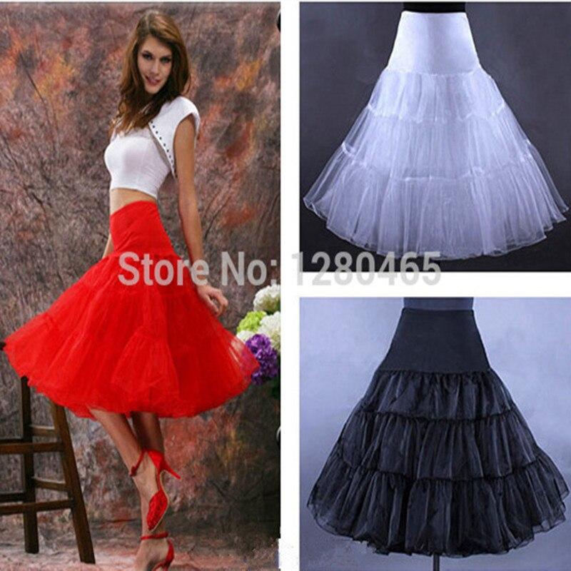054c4922a68 short organza petticoat crinoline vintage wedding bridal petticoat for wedding  dresses underskirt rockabilly tutu free shipping
