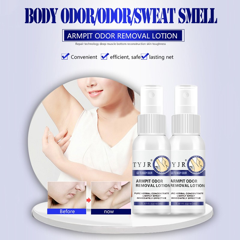 Antiperspirant Deodorize Cleaner Underarm Body Care Odor Sweat Deodorant Underarm Removal Deodorant Armpit Spray Liquid Remove