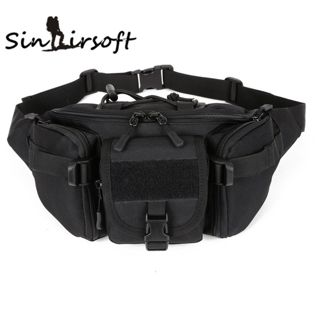 2015 Hip Pack  Waist Packs Waterproof Waist Bag Fanny Pack BELT BAG Molle Military Bumbag  Retail