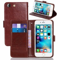 GUCOON Vintage Wallet Case For Philips V526 5 0inch PU Leather Retro Flip Cover Magnetic Fashion
