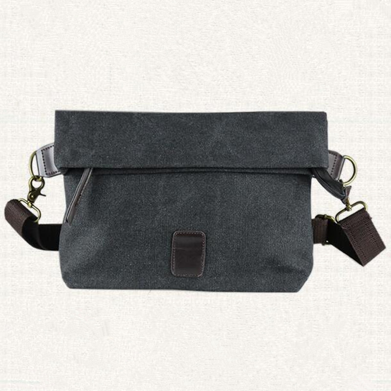 ФОТО Arrived free shipping canvas men bag fashion leisure inclined shoulder male  bag  XZ-004